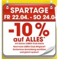 Libro Spartage mit 10% Rabatt auf fast Alles für Club Mitglieder