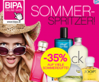 -35% auf viele Sommerdüfte @ BIPA (Online Shop)