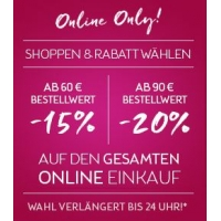 Bipa Onlineshop: bis zu 20 % Rabatt (inkl. clever-Artikel) – bis 22.5.