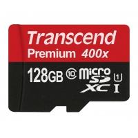 Transcend microSDXC 128GB mit SD-Adapter inkl. Versand um 39,90 €