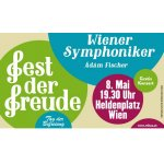Fest der Freude am 8. Mai – Gratis Konzert der Wiener Symphoniker