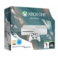 Xbox One 500GB Konsole – Bundle inkl. Quantum Break und Alan Wake Special Edition inkl. Versand um 259,97 € statt 355,87 € bei Amazon