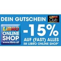 Libro Club Gutscheine – zB 15% Rabatt auf (fast) Alles für Club Mitglieder