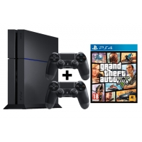 Media Markt 8 bis 8 Nacht – PlayStation 4 1TB Ultimate Player Edition inkl. 2 Controller + Grand Theft Auto V um 377 € inkl. Versand