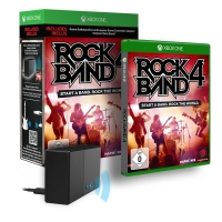 Rock Band 4 inkl. Controller Adapter (Xbox One) um nur 39,99 €