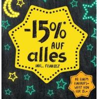 Merkur Late-Night-Shopping – 15 % Rabatt auf euren Einkauf am 31.10.