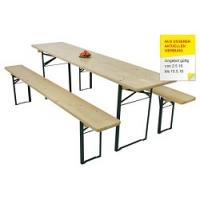 Biergarten-Garnitur inkl. Versand um 45 € im Möbelix Onlineshop
