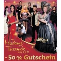 """50% Rabatt bei Madame Tussauds Wien nur am 4. Mai in der """"Heute"""""""