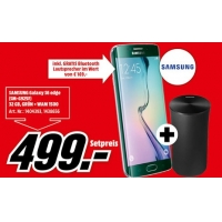 Samsung Galaxy S6 Edge 32 GB Green + Samsung WAM 1500 Multrioom Lautsprecher um 499 € statt 632 €