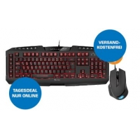 Saturn Tagesdeals – zB. Sharkoon Skiller PRO+ Gaming-Tastatur + Shark Force Gaming-Maus inkl. Versand um 39 € statt 53,11 €