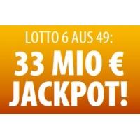 Tipp24 – 33 € Startguthaben für Neukunden mit einem Lotto 6aus49 Tipp