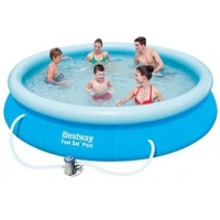 Bestway Fast Set Pool (Ø 366 cm, Höhe 76 cm) inkl. Versand um 44 €