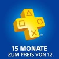 PlayStation®Plus-Mitgliedschaft: 15 Monate zum Preis von 12
