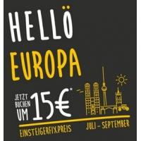 HELLÖ – Europaweit mit den ÖBB-Fernbussen um 15 € je Strecke reisen