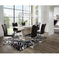 Möbelix Tischgruppe 5-teilig (1 Tisch + 4 Sessel) um unschlagbare 199 €