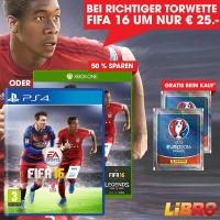 FIFA 16 um 25 € bei Libro mit richtigem Österreich – Ungarn Tipp
