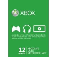 Xbox Live Gold 12 Monate Mitgliedschaft um nur 32,17 € auf eBay