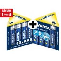 60 Stück High Energy Alkaline Batterien (AA oder AAA) um 18 €
