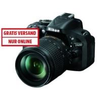 Nikon D5200 Spiegelreflex Kamera + 18-55 mm Objektiv um 369,99 €