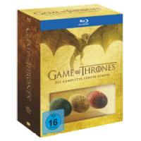Game of Thrones – 5. Staffel inkl. 3 Dracheneier inkl. Versand um nur 40 €