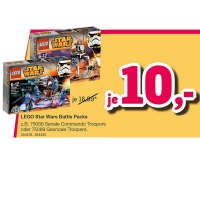Lego Star Wars – Battle Packs um nur 10€ bei ToysRus!