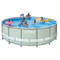 Intex Ultra Metal Frame Pool Set 488x122cm um 365 € inkl. Versand