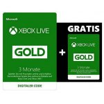 2x 3 Monate Xbox Live Gold Mitgliedschaft um 19,99 € statt 39,98 €