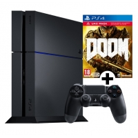 Media Markt 8 bis 8 Nacht – PlayStation 4 500 GB + Doom um 299 €