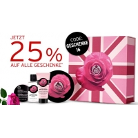 The Body Shop – 25 % Rabatt auf nicht reduzierte Geschenksets