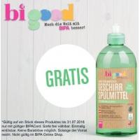 BIPA: GRATIS bigood Geschirrspülmittel 500 ml für BIPA-Card Kunden
