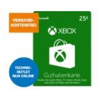 Xbox Live Guthaben mit bis zu 12 % Ersparnis im Saturn Technik Outlet