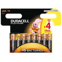 Duracell Plus Power Mignon AA 16 Stück inkl. Versand um 2€ statt 9,68€!