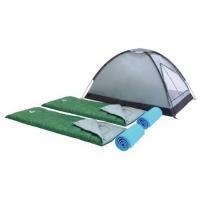 Zelt + 2 Schlafsäcke + 2 Matten + Tragetasche inkl. Versand um 39 €