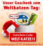 Katzennapf + Cosma snackles gratis bis 8.8 zu jeder Bestellung @ Zooplus.de