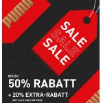 Puma Onlineshop: 20 % Extra-Rabatt auf alle Sale Artikel (bis 17.04.)