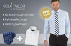 Maßhemd + Krawatte von Youtailer.at um 29€ + 8,5€ Versand @Groupon.at