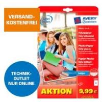 Fotopapier (40 Stück) ab 1 € im Saturn Technik Outlet – versandkostenfrei