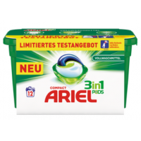 Ariel 3in1 Pods (12 Stück) zum Aktionspreis von nur 1,95 € bei BIPA