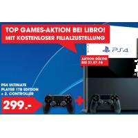 Playstation 4 1TB + 2. Controller mit Wunschfarbe um 299 € – bis 31.7.