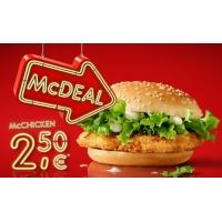 Mcdonalds McDeal August – McChicken um 2,50 €