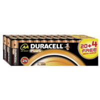 Duracell Plus Mignon AA 24 Stück inkl. Versand um 6 € statt 13,94 €!