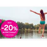 BIPA Onlineshop Hitzerabatt: 20% Rabatt auf Einkauf ab 100€