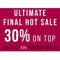 Tom Tailor Sale mit bis zu 70% Rabatt und 30% Extra-Rabatt – bis 4.9.