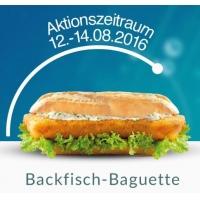 Gratis Backfisch-Baguette in den Nordsee Filialen für Pokemon Go-Spieler