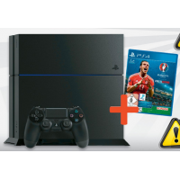 Sony PlayStation 4 – 500GB + UEFA Euro 2016 um 240 € statt 299 €
