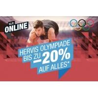 Hervis Onlineshop – bis zu 20 % Rabatt auf euren Einkauf (bis 21.8.)