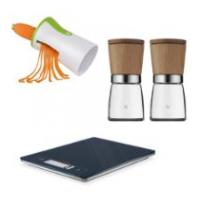 Küchenhelfer im Angebot z.B. WMF Gewürzmühlen-Set um 29,99 €