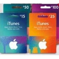 iTunes-Guthabenkarten Aktionen – bis zu 15 % Rabatt