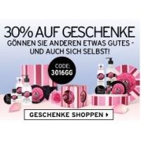 The Body Shop – 30 % Rabatt auf alle Geschenksets (nur online)