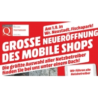 Media Markt Mobile Shop Eröffnung am 1.9.2016 in Wr. Neustadt